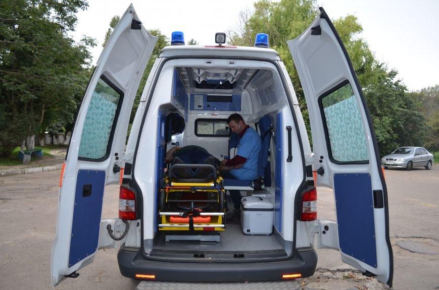 ПАТ «Рівнеазот» Ostchem придбало для працівників нову швидку (Фото), фото-1