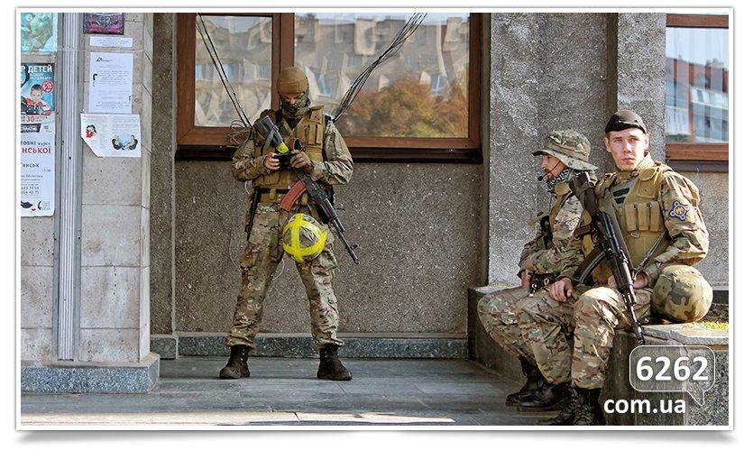 Славянск - начались волнения на площади. (фото) - фото 19