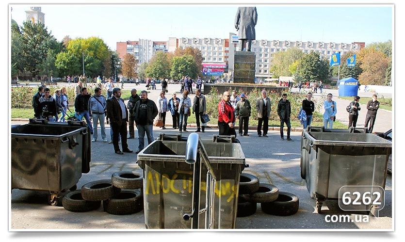 Славянск - начались волнения на площади. (фото) - фото 14