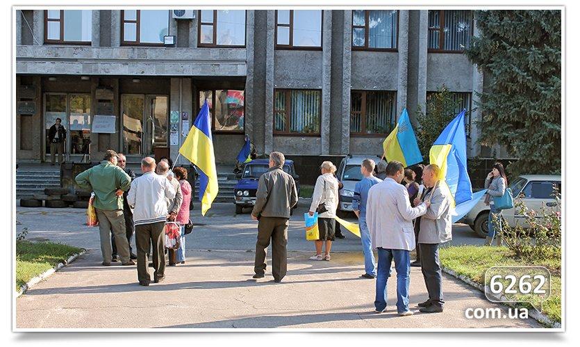 Славянск - начались волнения на площади. (фото) - фото 6