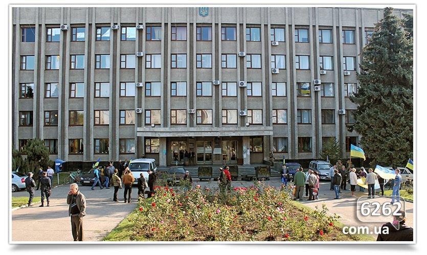 Славянск - начались волнения на площади. (фото) - фото 5