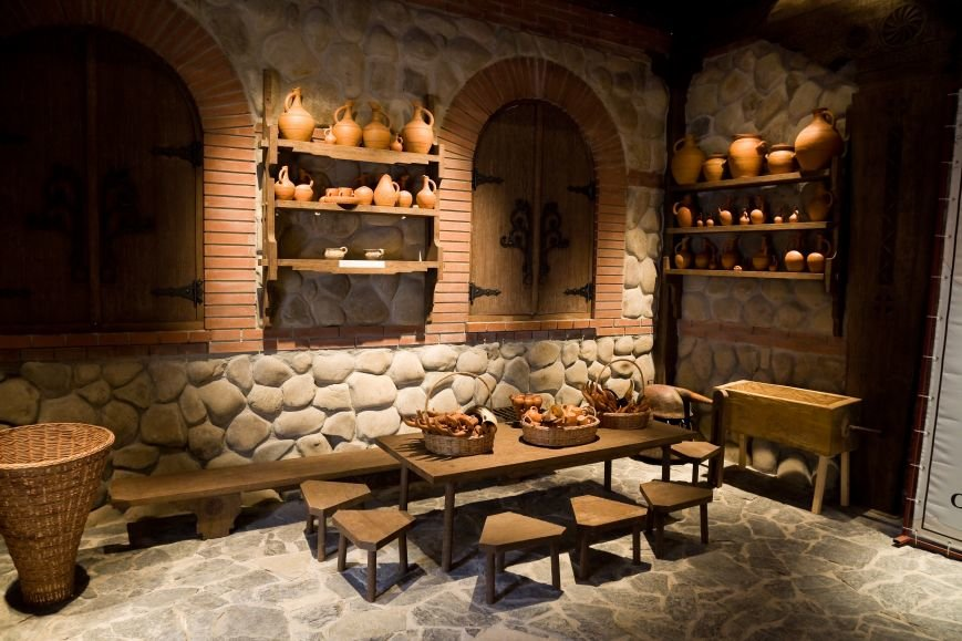 грузинский зал в музее