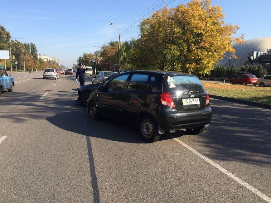 На Победе в Днепропетровске столкнулись три автомобиля (ФОТО), фото-5