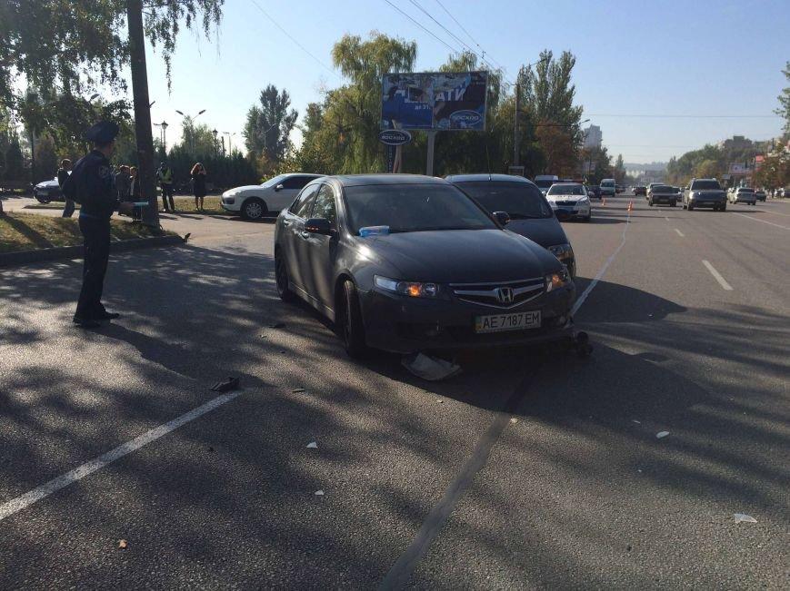 На Победе в Днепропетровске столкнулись три автомобиля (ФОТО), фото-6