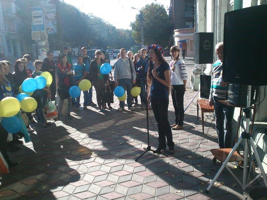 В Днепродзержинске состоялся флешмоб «Чтение ради мира», фото-7