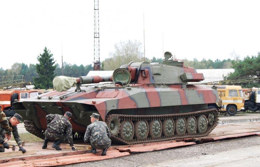 Із Рівненщини відправили самохідні артилерійські установки 2С1 «Гвоздика» (Фото), фото-5