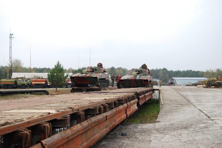 Із Рівненщини відправили самохідні артилерійські установки 2С1 «Гвоздика» (Фото), фото-4