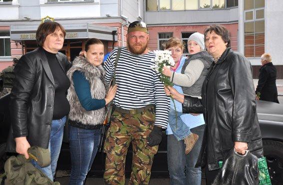 Полтавські правоохоронці, які служили у АТО, повернулися додому, фото-1