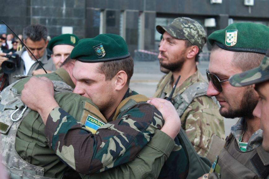 Сумчане встретили пограничников, охранявших границу в зоне АТО (ФОТО), фото-4