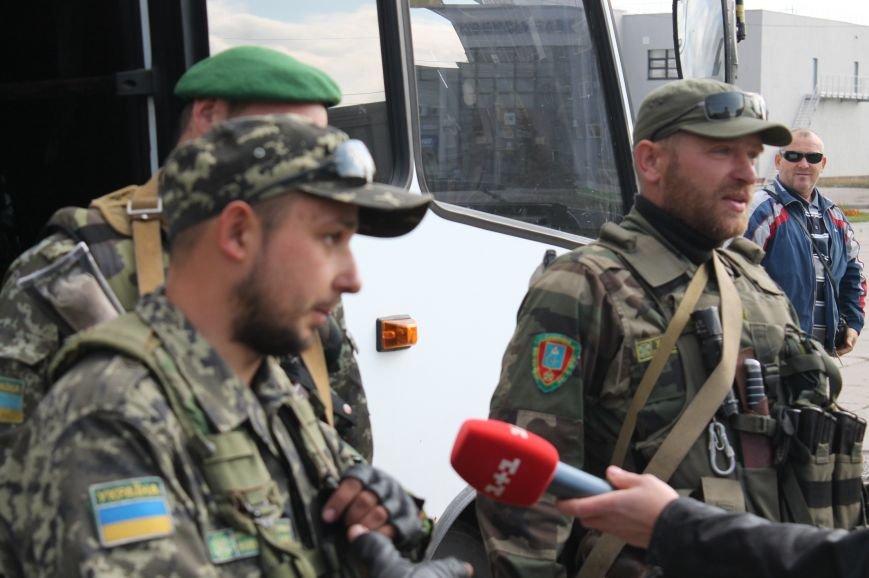 Сумчане встретили пограничников, охранявших границу в зоне АТО (ФОТО), фото-2