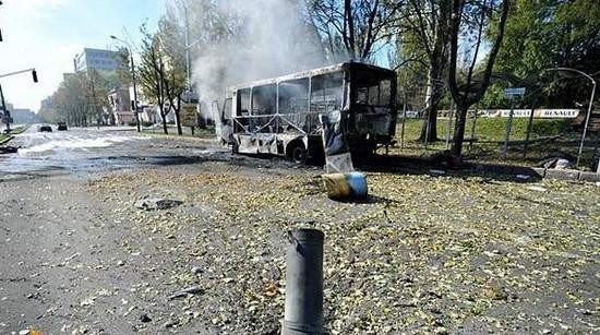 Снаряды «ДНР» в Донецке попали в школу и маршрутку (ФОТО, ВИДЕО), фото-2