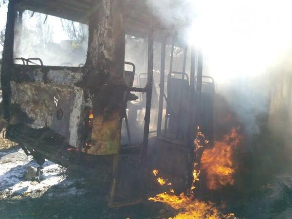 Снаряды «ДНР» в Донецке попали в школу и маршрутку (ФОТО, ВИДЕО), фото-1