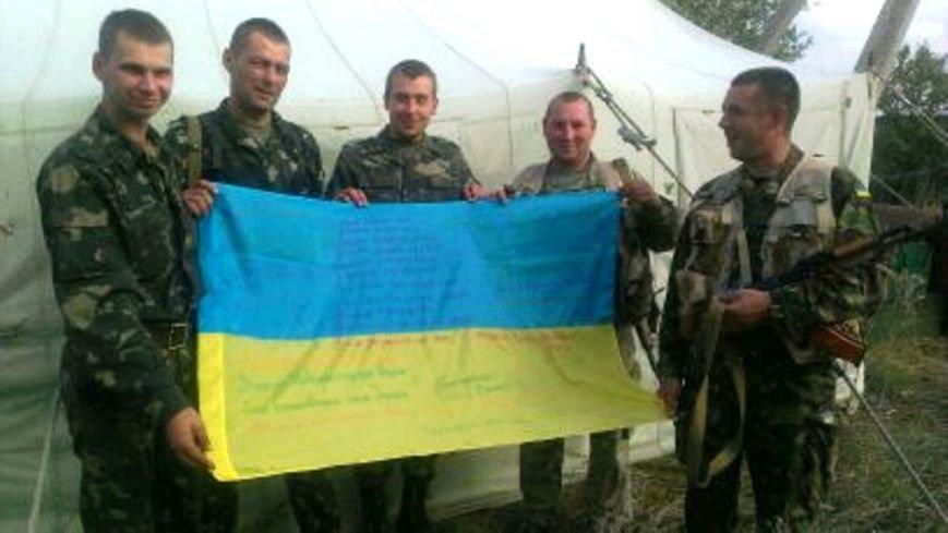 Рівненські школярі провели благодійну акцію для військових (Фото), фото-1