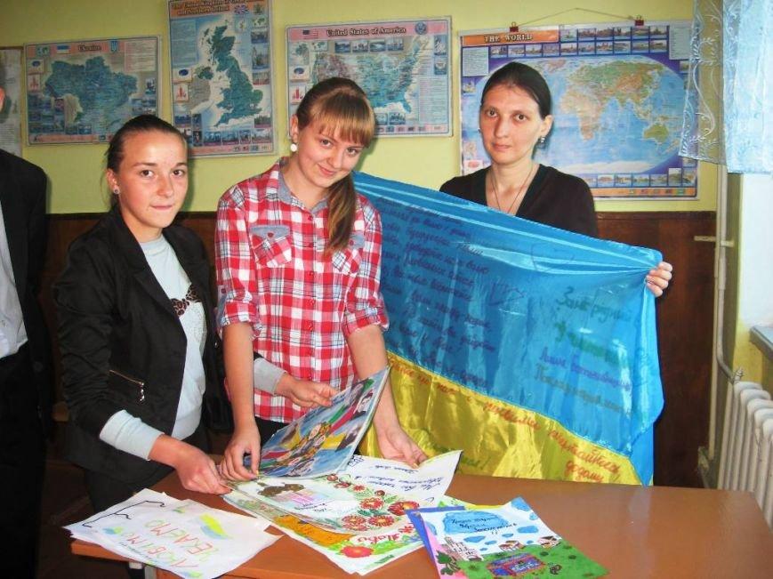 Рівненські школярі провели благодійну акцію для військових (Фото), фото-2