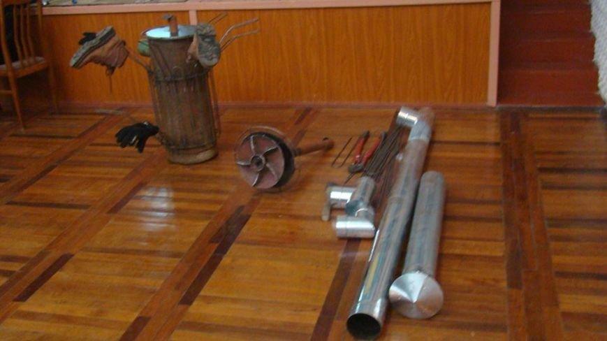 У Чернівцях провели майстер-клас  «Виготовлення пічки-обігрівача для солдата», фото-2