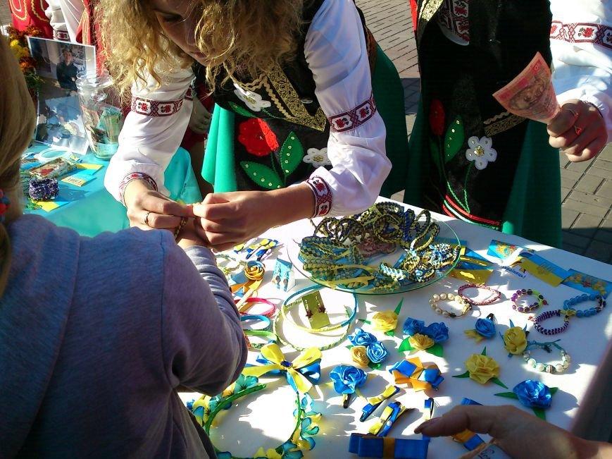 В центре Днепродзержинска проходит акция «Молодежь профессионально-технического образования - за мир», фото-15