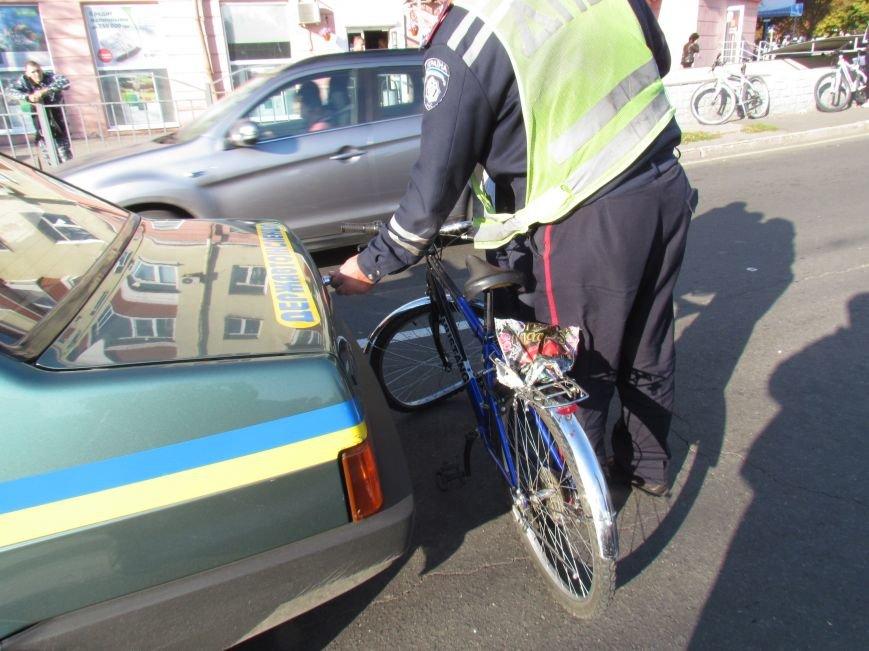 В Мариуполе пьяный велосипедист врезался в автомобиль (ФОТО), фото-5
