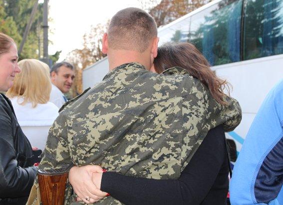 Рівненські правоохоронці повернулись із зони АТО (Фото), фото-1