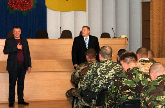 Рівненські правоохоронці повернулись із зони АТО (Фото), фото-3