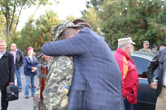 Рівненські правоохоронці повернулись із зони АТО (Фото), фото-2