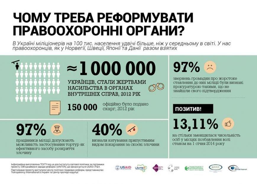 Реформа милиции, прокуратуры и судейства в Украине - что нужно сделать?, фото-1