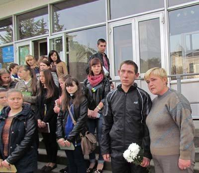 Як зустріли на Тернопільщині військового, який вирвався із полону терористів, фото-1