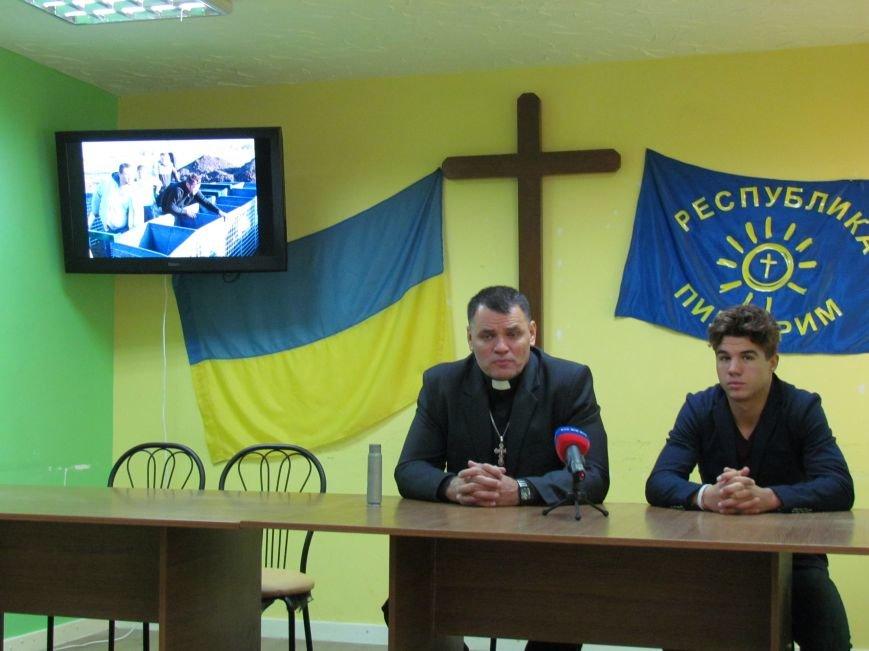 Киевские христиане изготовили для Мариуполя надежный блокпост (ФОТО), фото-7
