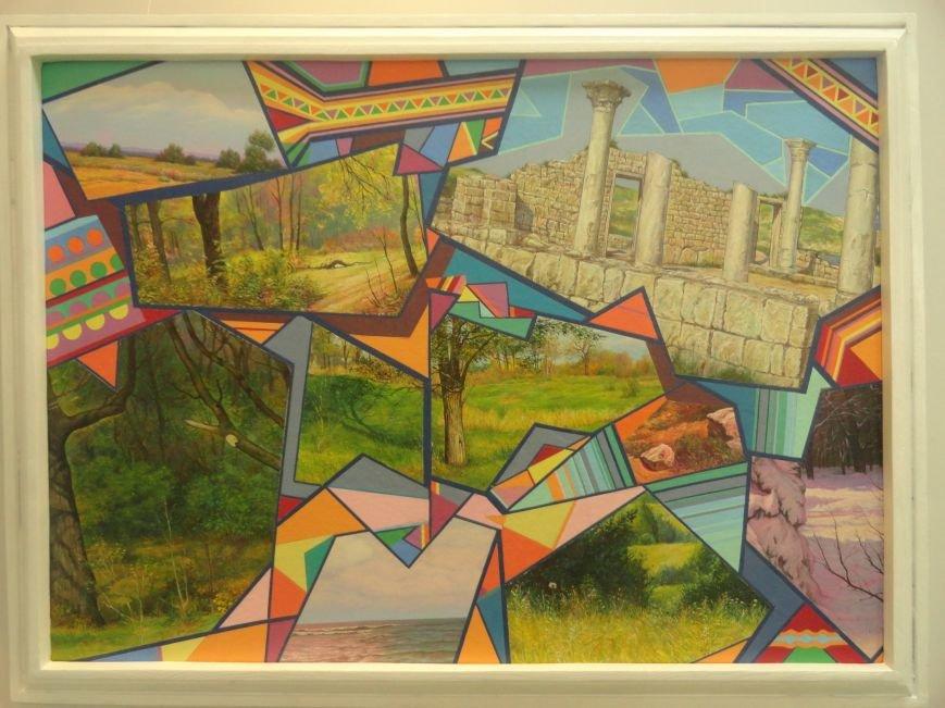 В мариупольском музее на  выставке живописи звучал рок в исполнении художника (ФОТОРЕПОРТАЖ), фото-9