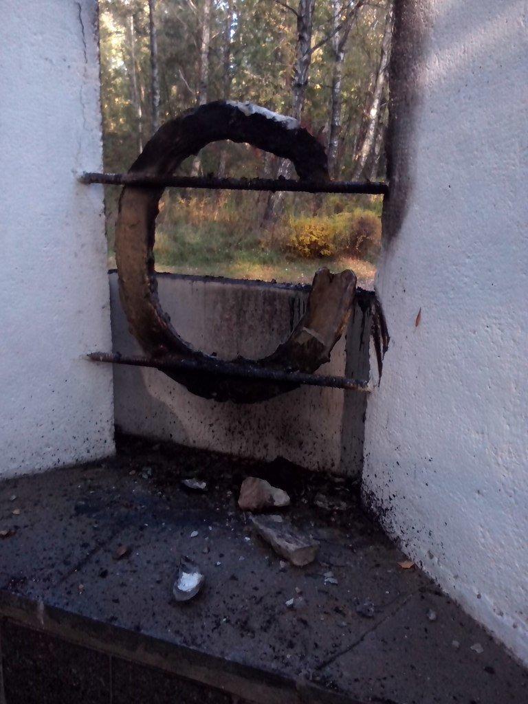 В Чернигове горела братская могила времен второй мировой войны, фото-2