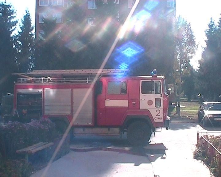 В Сумах пожарные спасли жизнь человеку (ФОТО), фото-1
