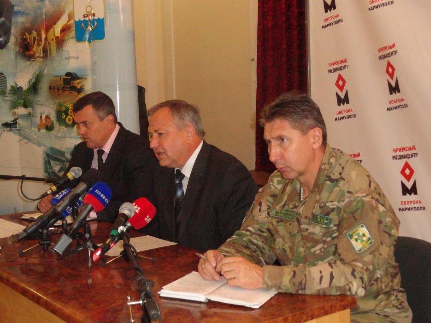 Юрий Хотлубей заявил, что Мариуполь не входит в  30-километровую буферную зону (ФОТО), фото-1