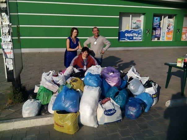 Мариупольцы помогают беженцам из зоны АТО (Дополнено), фото-1