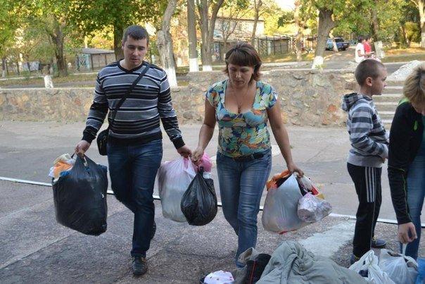 Мариупольцы помогают беженцам из зоны АТО (Дополнено), фото-2