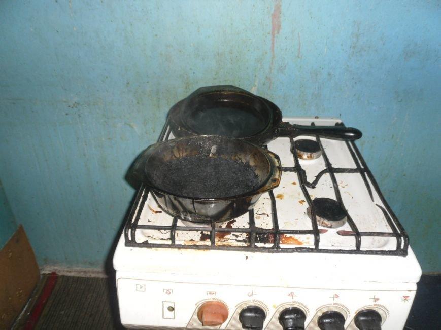 В Днепродзержинске спасатели предотвратили возможный пожар из-за подгорания пищи, фото-1