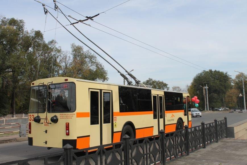 «АрселорМиттал Кривой Рог» отремонтировал городские троллейбусы (ФОТО), фото-9