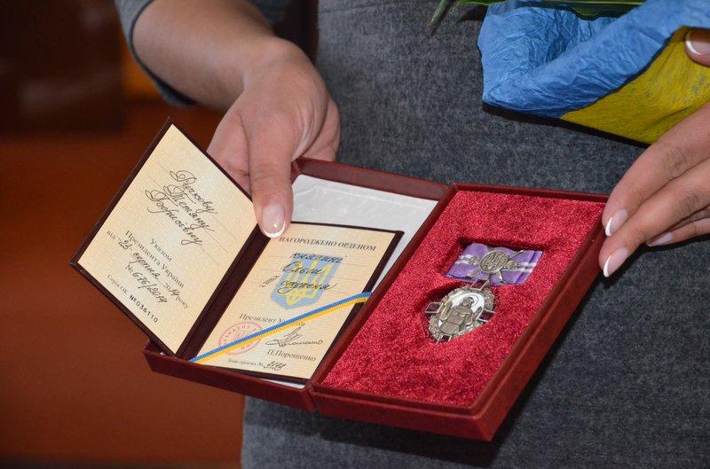 Известный волонтер из Днепропетровщины Татьяна Рычкова получила орден княгини Ольги, фото-3