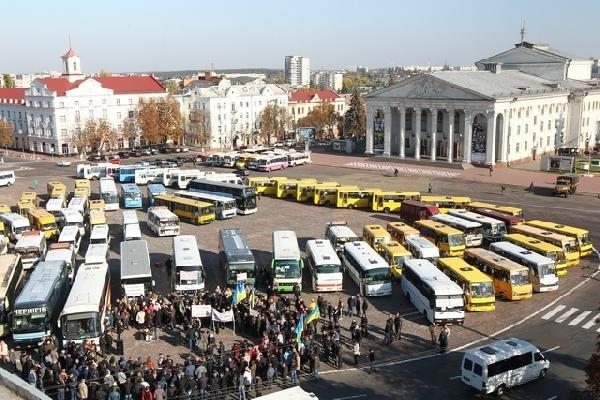 В Чернигове начался новый этап битв перевозчиков, фото-2