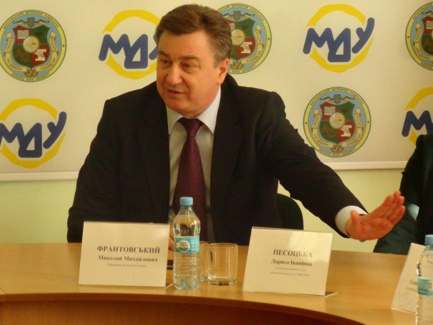 Прокурор Донецкой области заявил, что суды не нужно «захаивать»  (ФОТО+ВИДЕО+ДОБАВЛЕНО), фото-1
