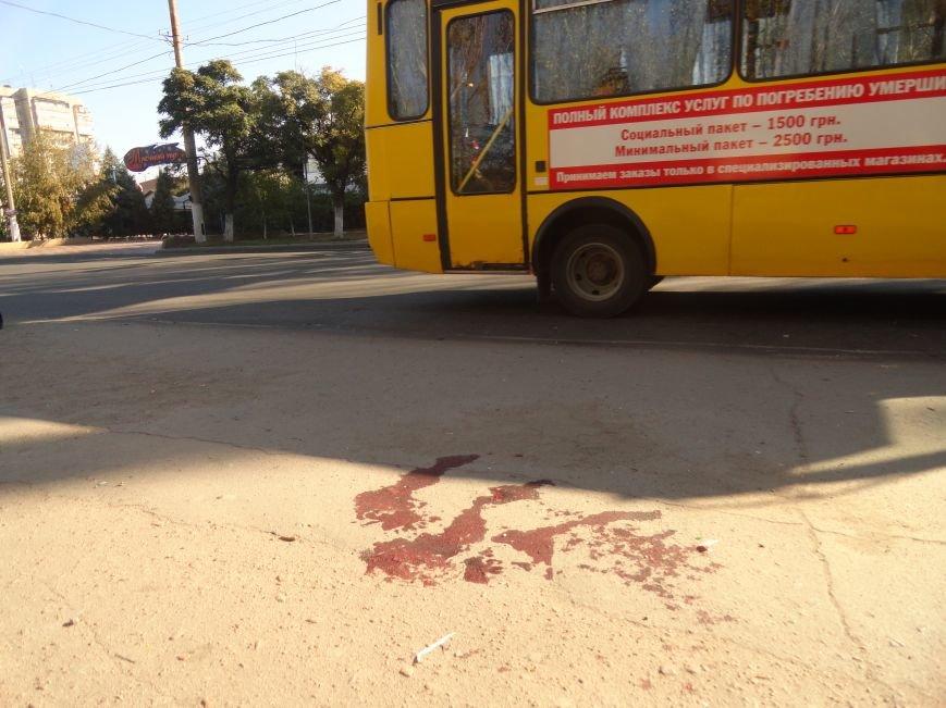 Мариупольцы увидели лужу крови на остановке (ФОТОРЕПОРТАЖ), фото-3