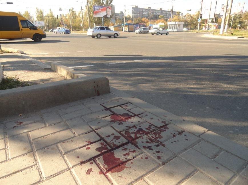 Мариупольцы увидели лужу крови на остановке (ФОТОРЕПОРТАЖ), фото-7