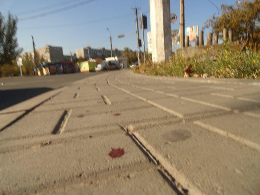 Мариупольцы увидели лужу крови на остановке (ФОТОРЕПОРТАЖ), фото-6