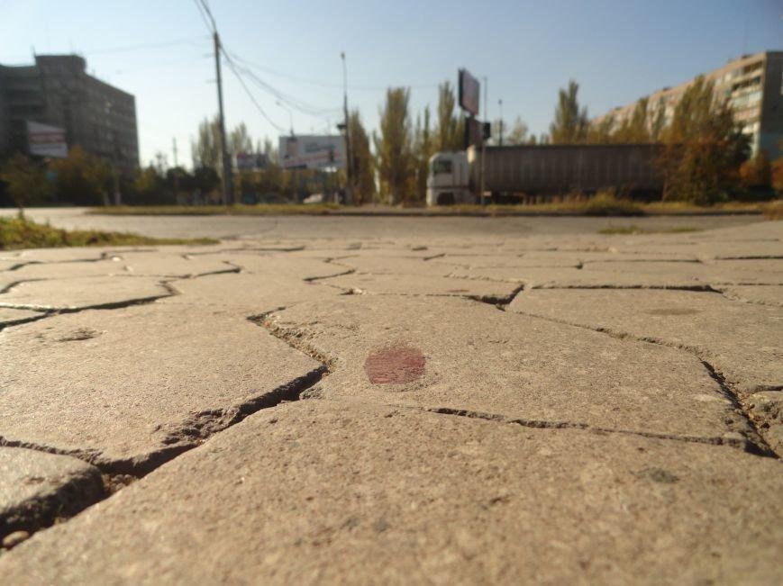 Мариупольцы увидели лужу крови на остановке (ФОТОРЕПОРТАЖ), фото-4