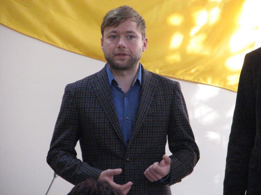 Головний люстратор та бійці «Донбасу» побували в Тернополі, фото-1