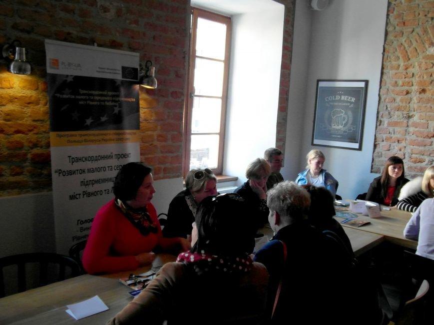 Рівненські підприємці представили у Любліні туристичне Рівне (Фото), фото-1
