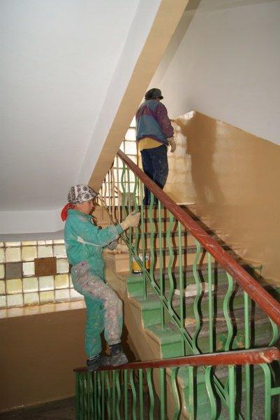 Як ремонтують сходові клітки в тернопільських будинках? (фото), фото-1