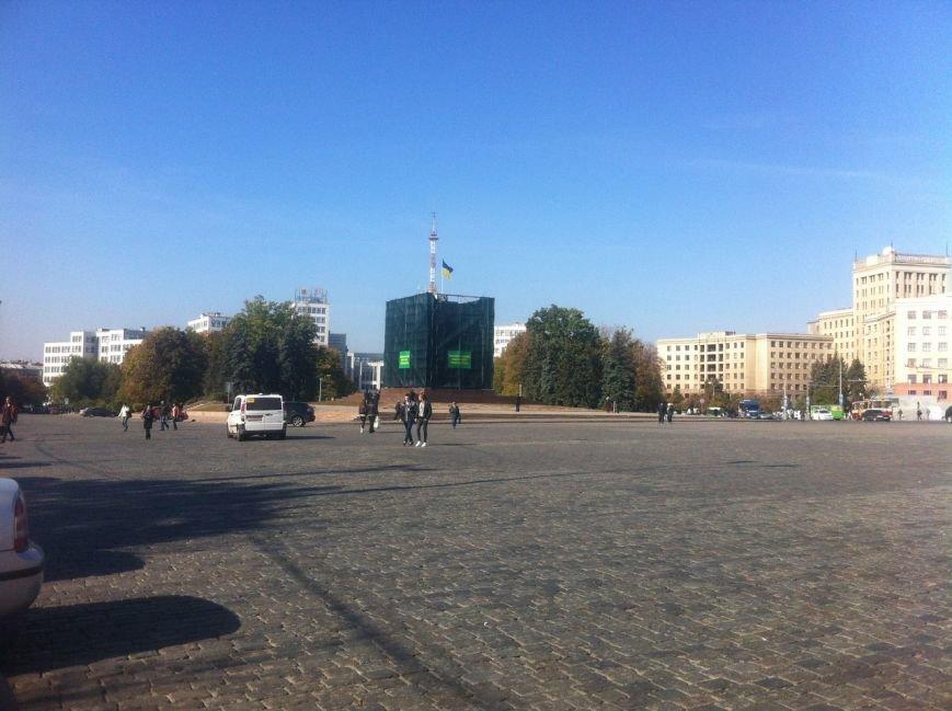 Крест с постамента памятника Ленину сняли по приказу Кернеса, фото-3