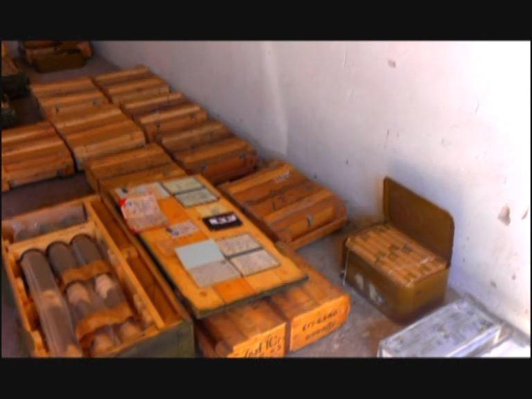 На Днепропетровщине в заброшенном здании обнаружен тайник с большим арсеналом боеприпасов, фото-2