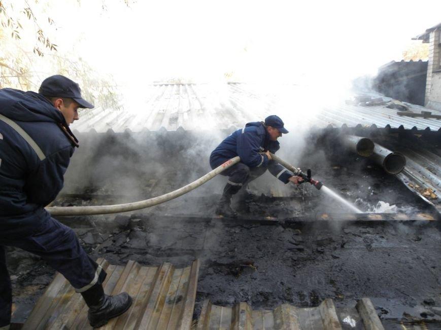 В Чернигове горело предприятие «Спорттехника», фото-4