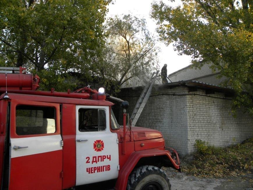 В Чернигове горело предприятие «Спорттехника», фото-2