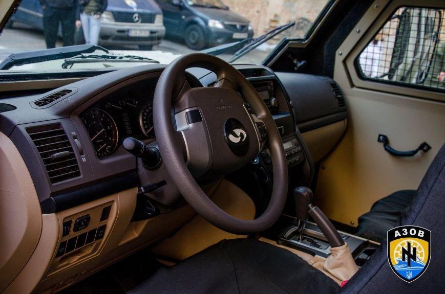 МВД подарило полку «Азов» бронеавтомобиль за 215 тыс. долларов (ФОТО), фото-2